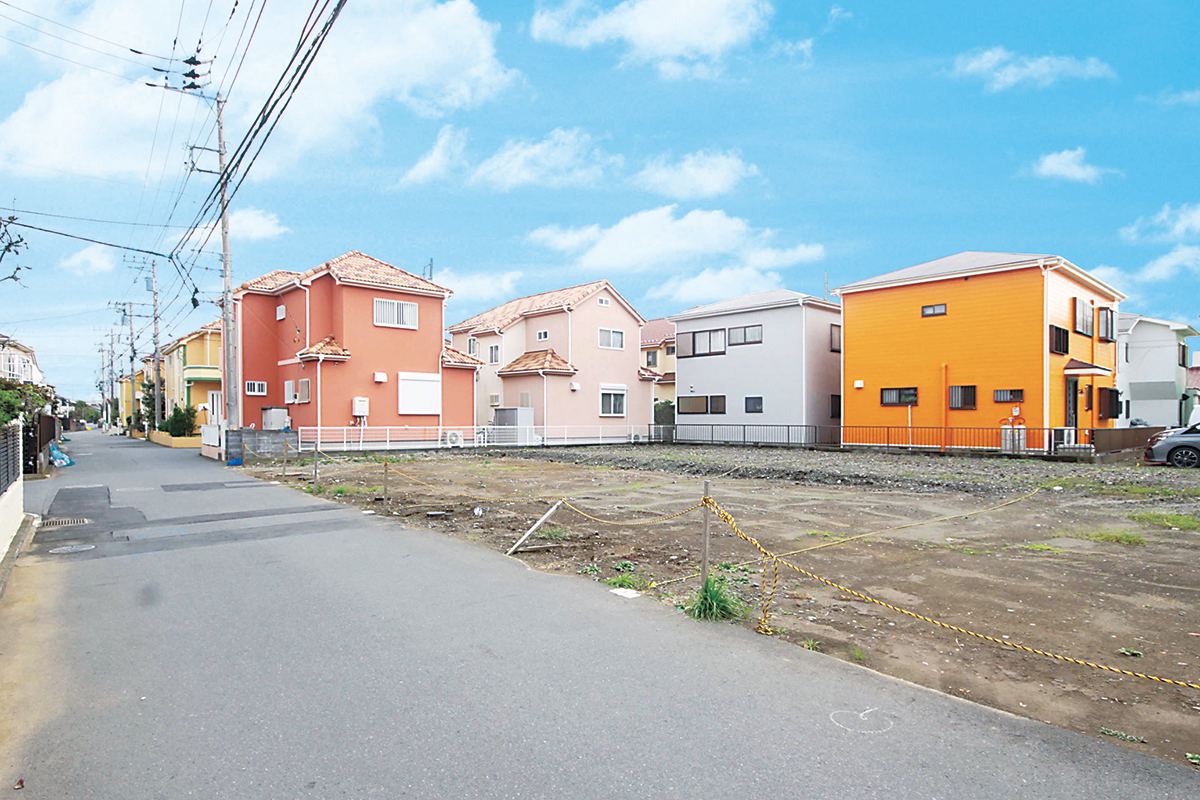 建築条件付全3区画 建物フリープラン 茅ヶ崎 矢畑 No.1