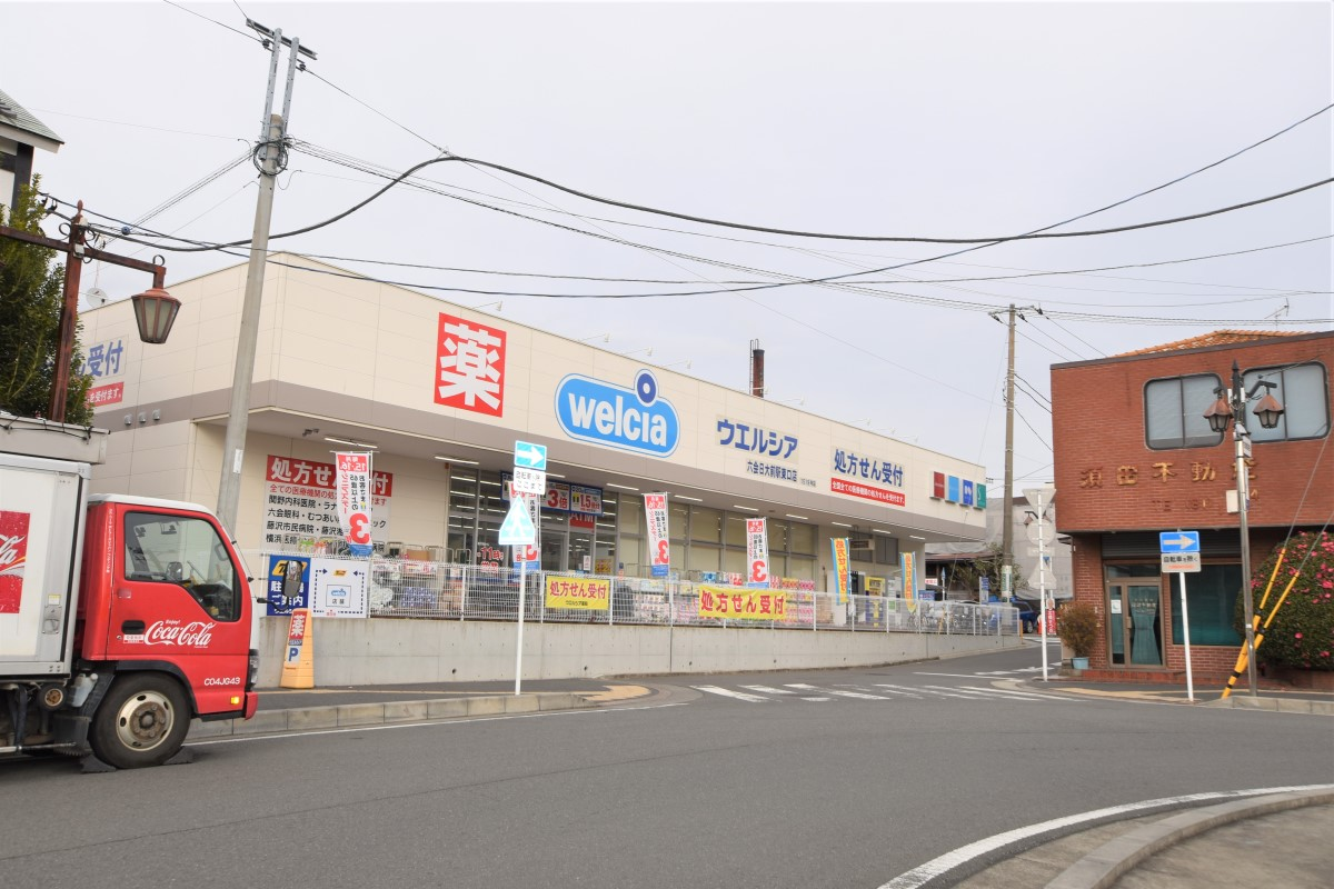 ウェルシア六会日大前駅東口店