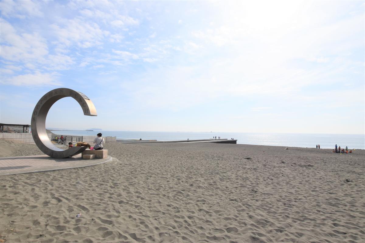 サザンビーチまで250m、爽やかな海風に心も癒されますね。